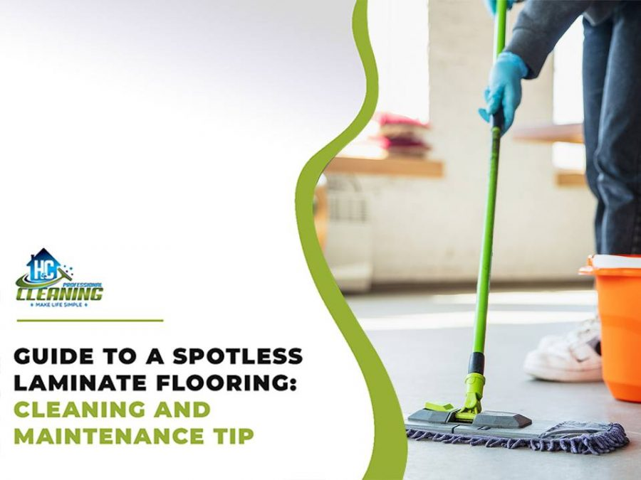 Spotless Clean Laminate Flooring by H&C Professional Cleaning