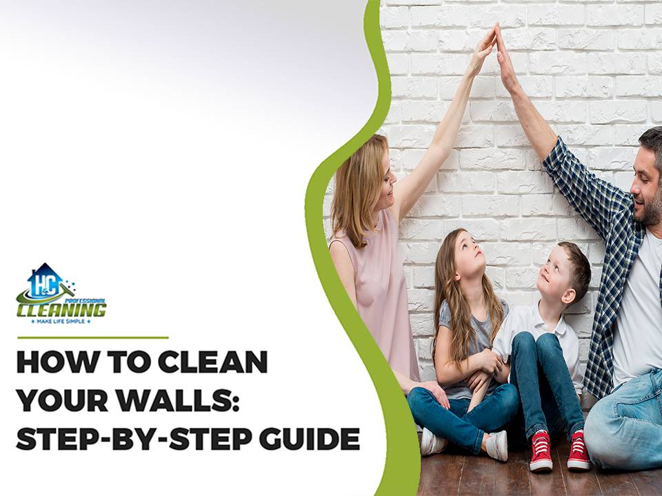 Clean your walls with Professional Cleaners in the Hills District