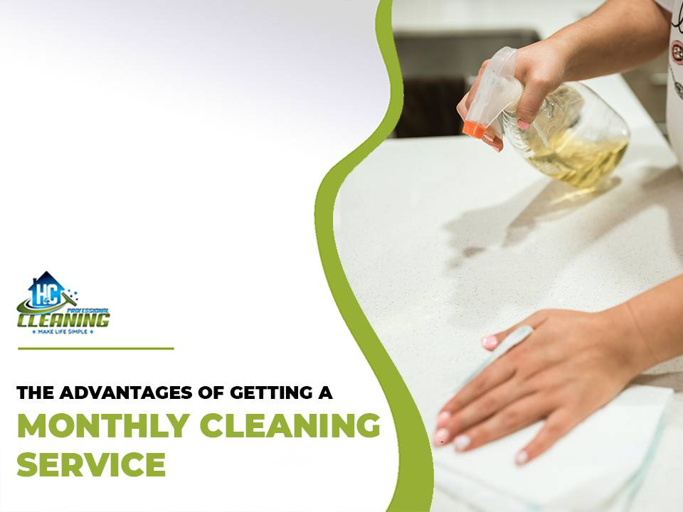 Monthly cleaning service in Sydney