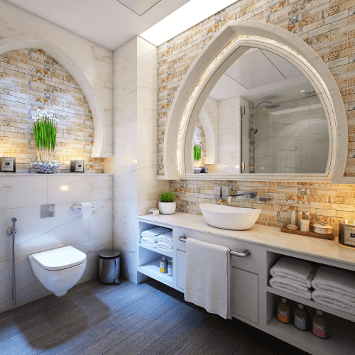 How often should a bathroom be cleaned?