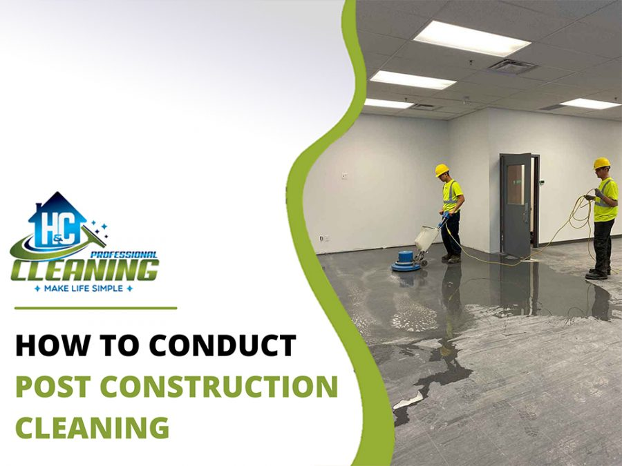 Post Construction Cleaning by Professional Cleaning