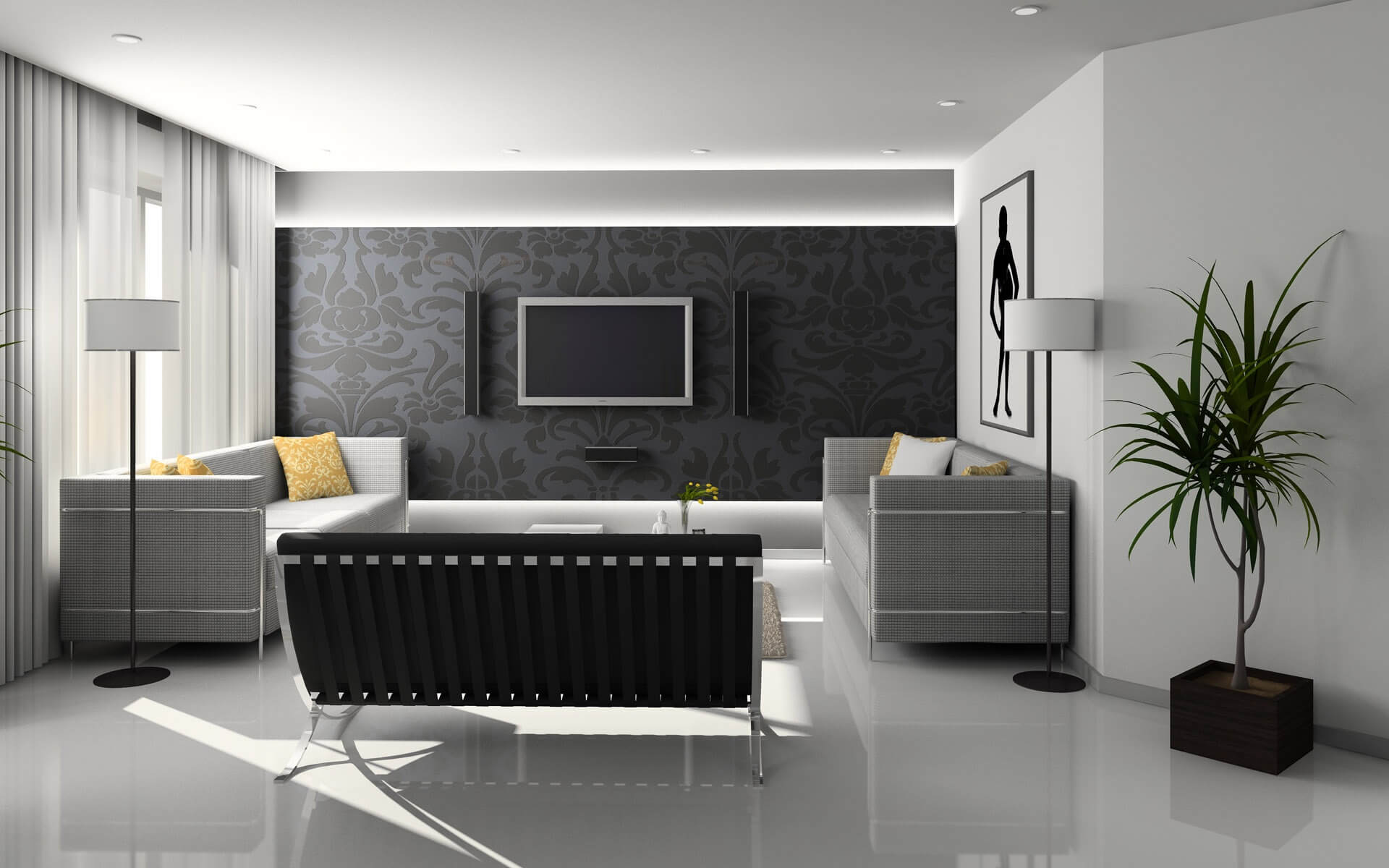 What is a general house cleaning?