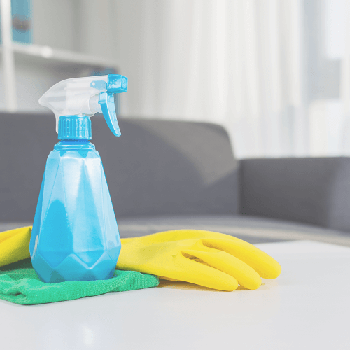 What is included in end of lease cleaning?