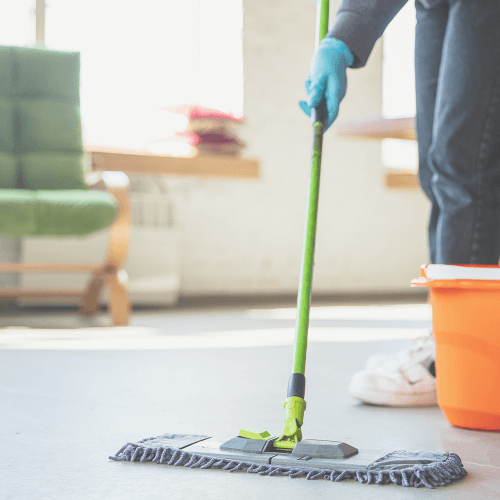 What does house cleaning include?