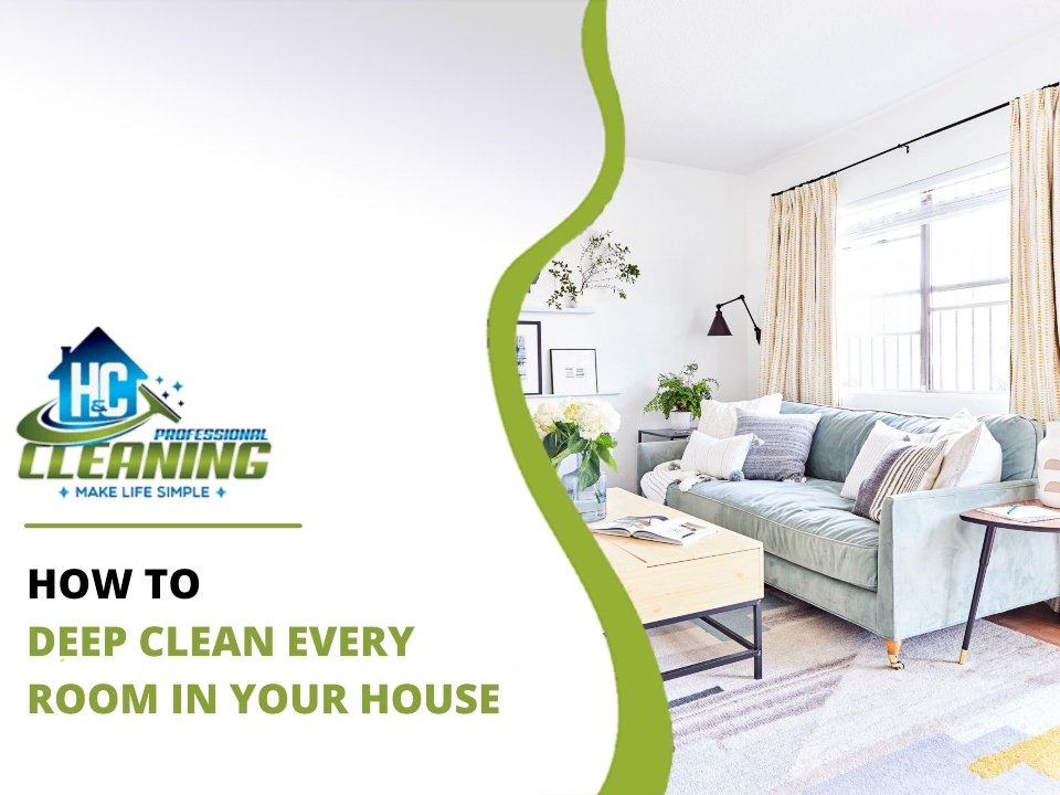 How to Deep Clean Every Room in Your House